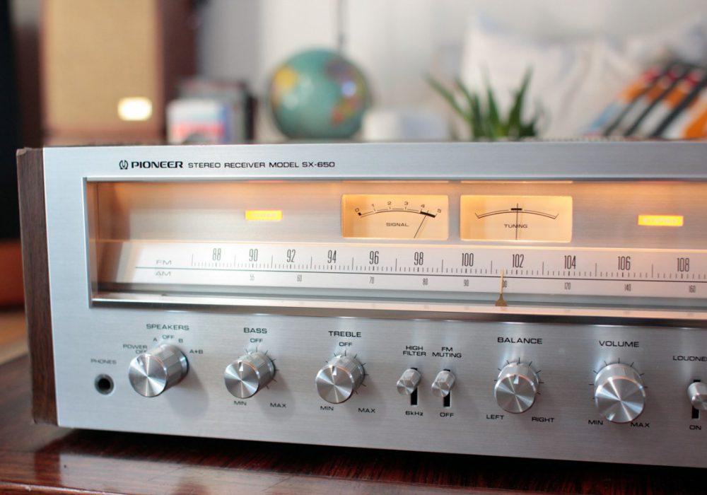 先锋 PIONEER SX-650 收音机