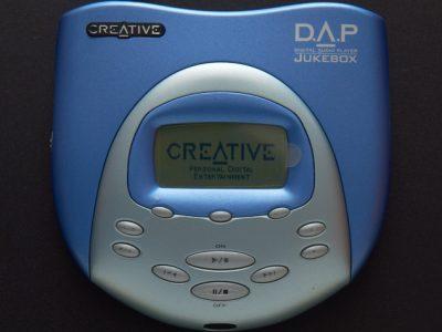 Creative Jukebox 3, MuVo 2, RIO Karma 播放器