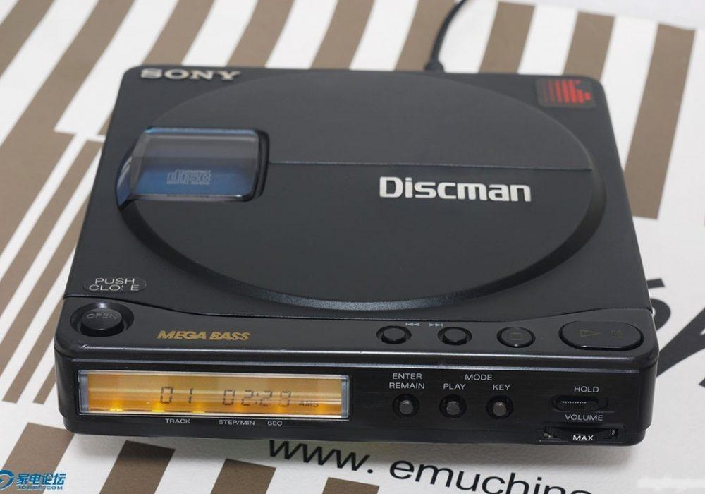 索尼D90 CD随身听 + 建伍L7R MD机
