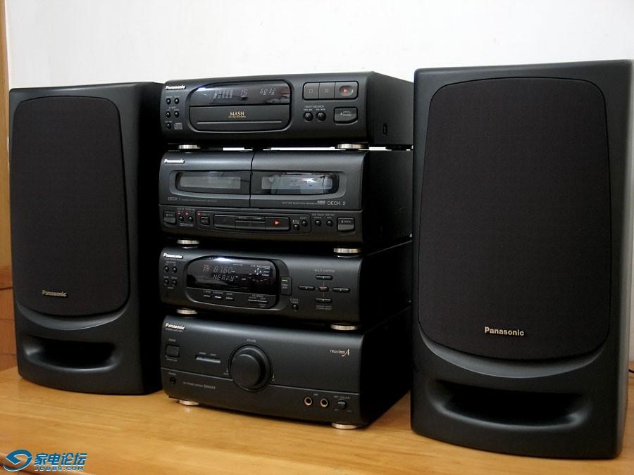 松下 Panasonic SE-CH404X 四分体组合音响