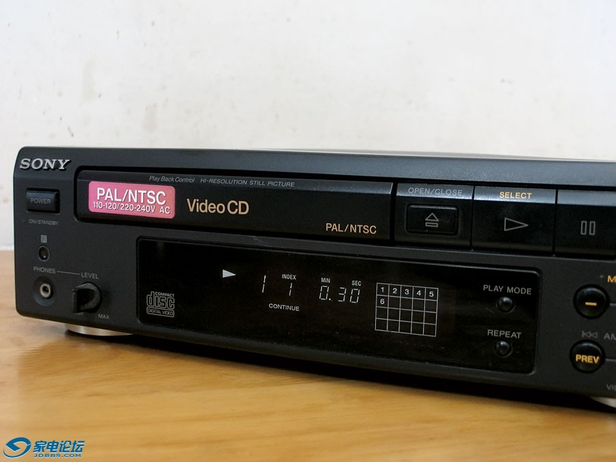 索尼 SONY MCE-S50 迷你CD/VCD机