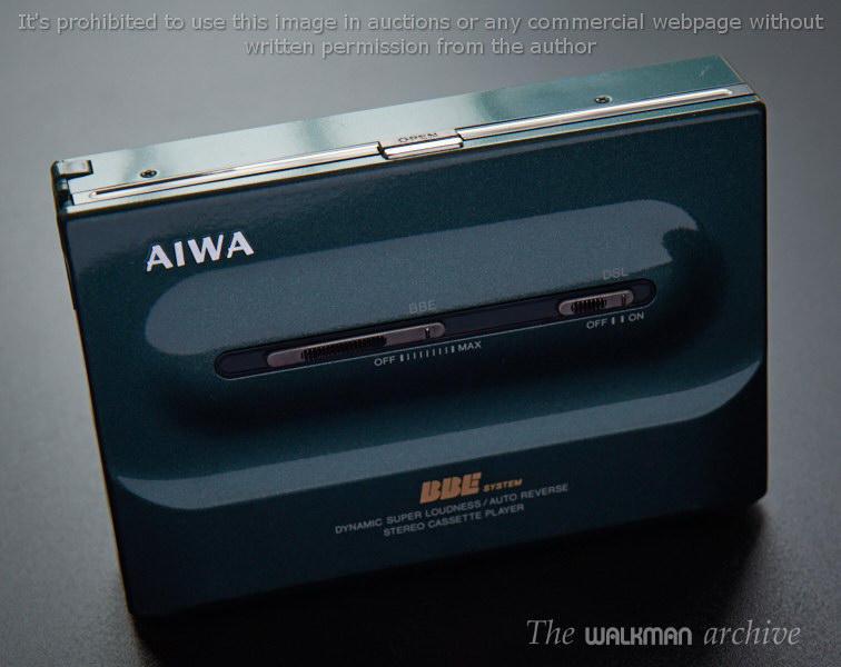 爱华 AIWA PL50 四色全系列