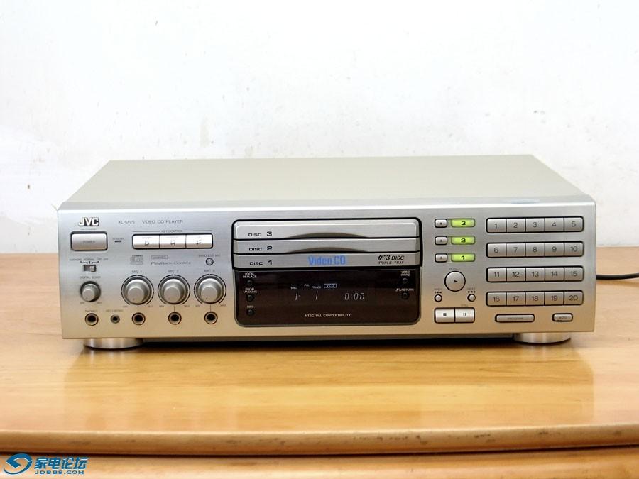 JVC XL-MV5 三碟连放 VCD机