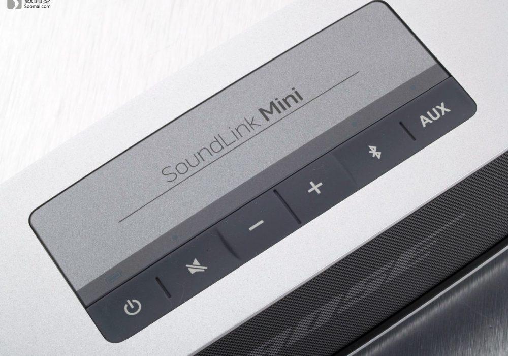 BOSE SoundLink Mini 无线蓝牙音箱 - 控制键区