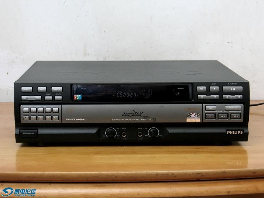 飞利浦 PHILIPS CDC999V 三碟连放超级VCD机