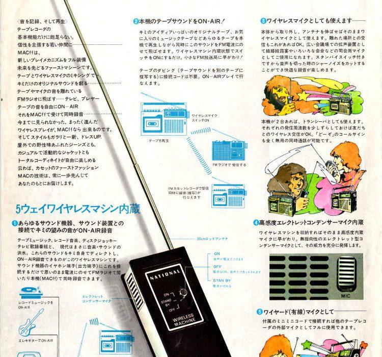 National・テープレコーダ・1973年(昭和48年)