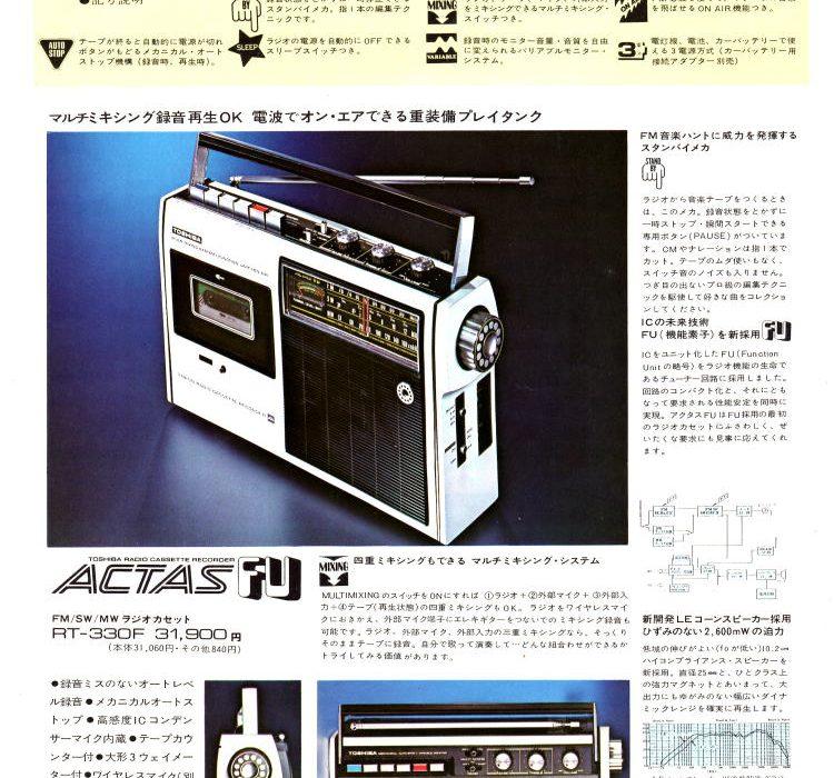 TOSHIBA 1972年(昭和47年)