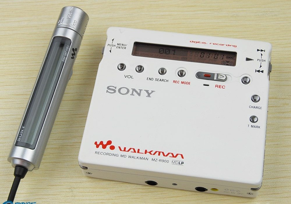 索尼 SONY MZ-R900 MD随身听