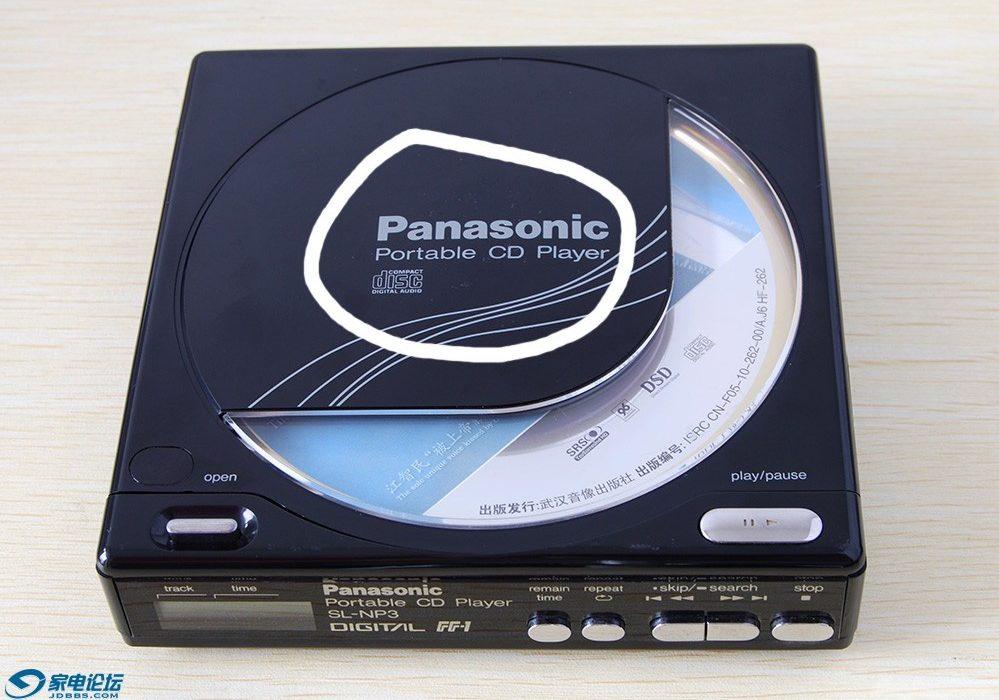 松下 Panasonic SL-NP3 CD随身听