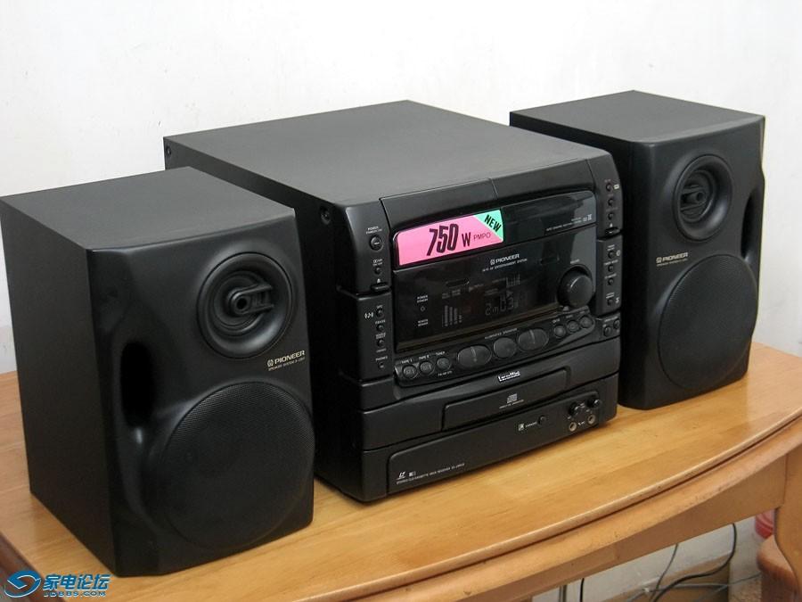 先锋 PIONEER CL-J35LD 组合音响 CD LD 影碟机