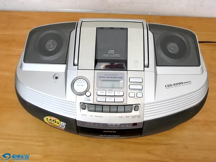爱华 aiwa CSD-ED99 手提CD面包机
