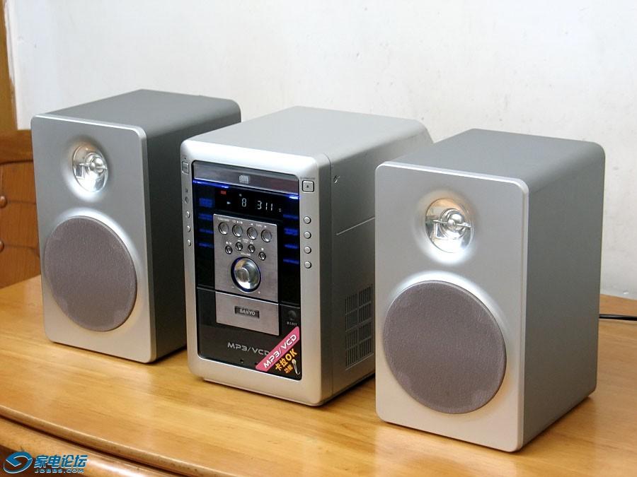 三洋 SANYO DC-MM5500V 迷你组合音响 床头CD音响