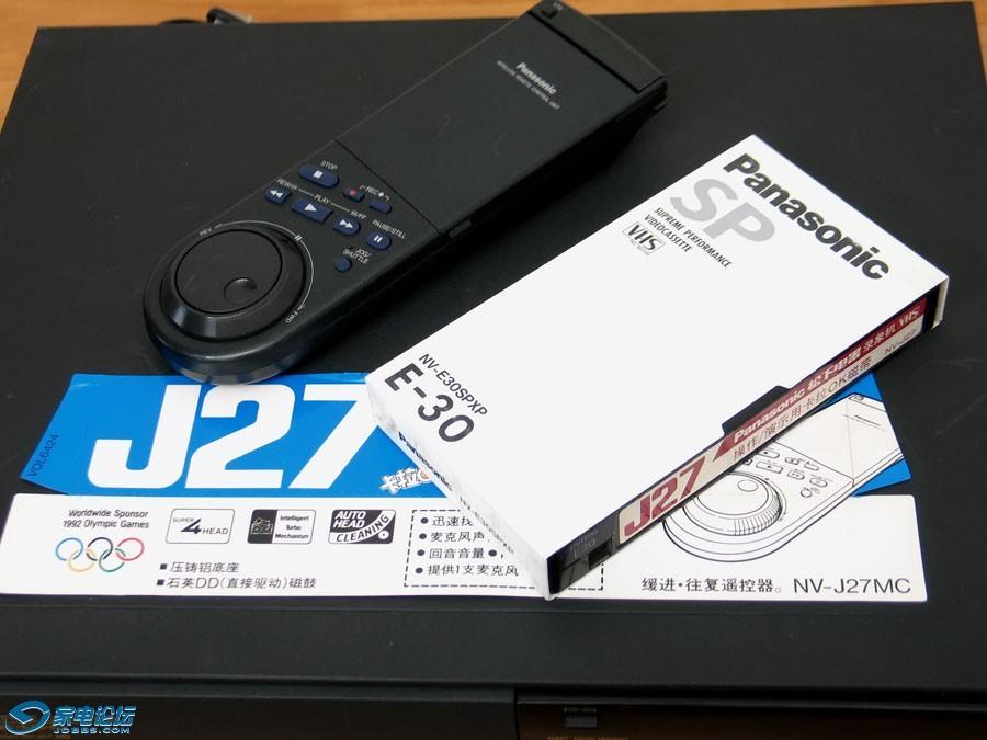 松下 Panasonic NV-J27MC VHS 录像机