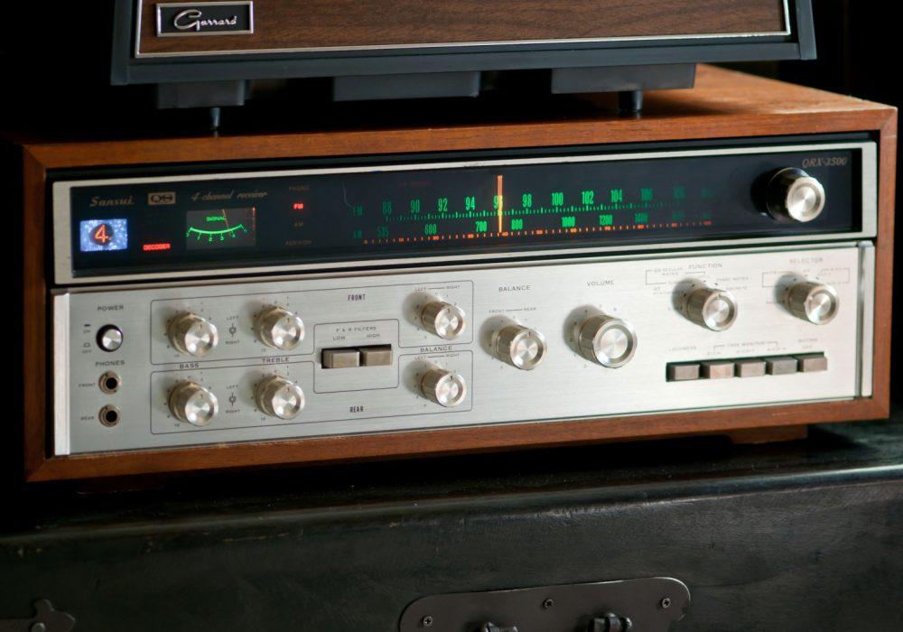 山水 SANSUI QRX-3500 收音头 (1973)