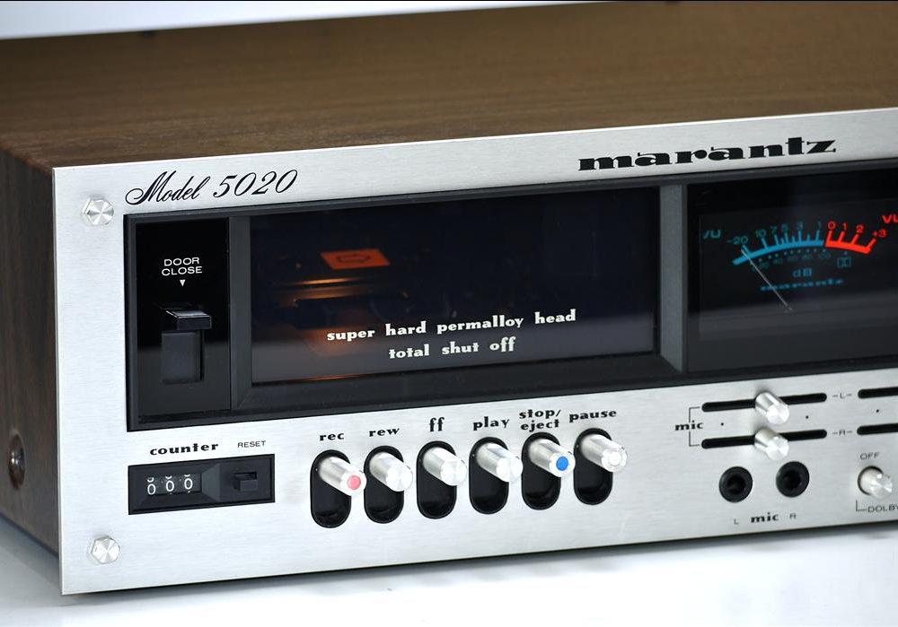 马兰士 MARANTZ 5020 古典双表头卡座
