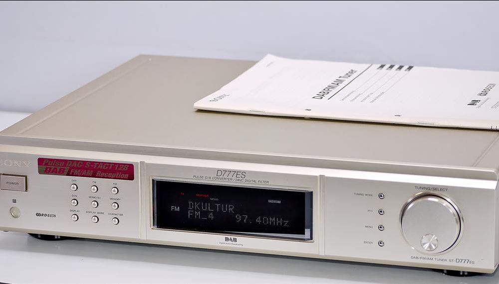 索尼 SONY ST-D777ES DAB/FM/AM 高级数字调谐器 收音头