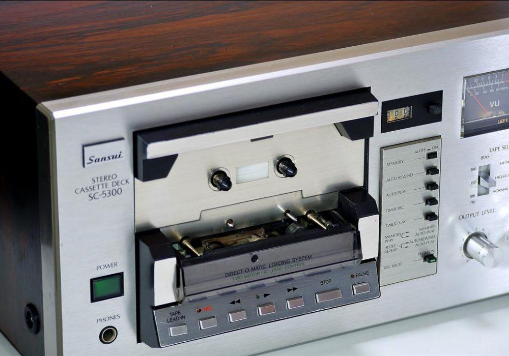山水 SANSUI SC-5300 古典双表头卡座