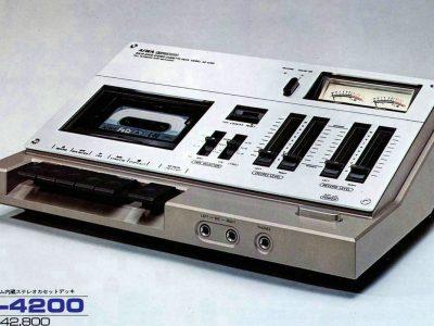【资料】爱华收录机,组合音响等杂志广告