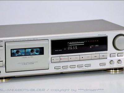 天龙 DENON DRM-740 高级三磁头卡座