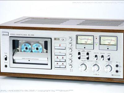 山水 SANSUI SC-5100 双表头古典卡座