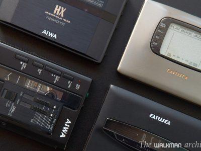 爱华 AIWA PX系列 - HS-PX101, HS-PX303, HS-PX410, HS-PX505, HS-PX1000 磁带随身听