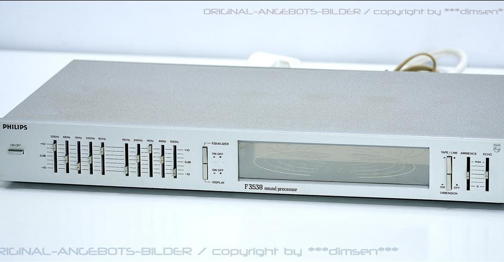 飞利浦 PHILIPS F3538 均衡器