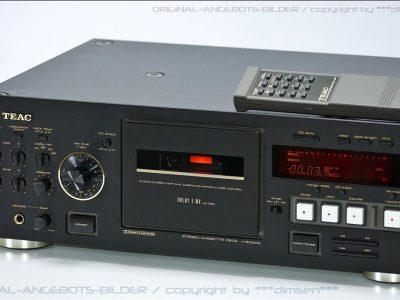黑色 TEAC V-6030S 三磁头卡座