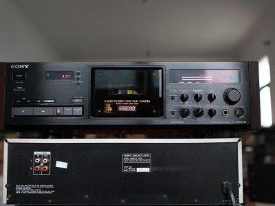 索尼 SONY TC-K555ESG 经典3磁头卡座