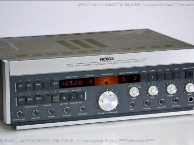 REVOX B739 FM 立体声收音头+前级放大器