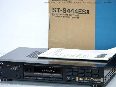 索尼 SONY ST-S444ESX FM/AM 数字调谐收音头