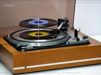 DUAL 1019 古典黑胶唱机