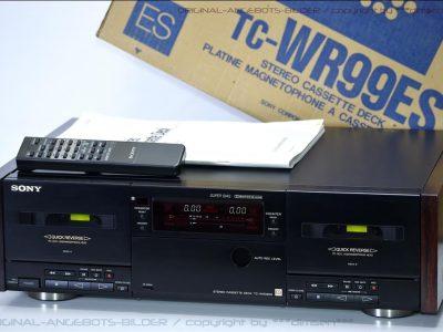 索尼 SONY TC-WR99ES 双卡座