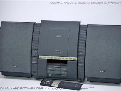 松下 Technics SC-LS10 CD/磁带/收音 桌面音响