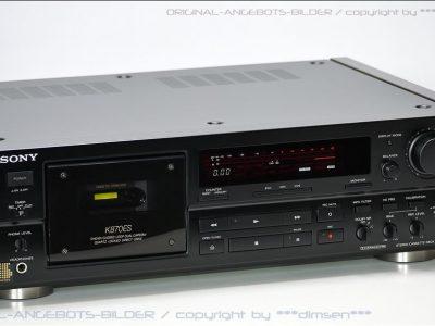 索尼 SONY TC-K870ES 三磁头卡座