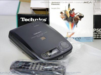 松下 Technics SL-PV50 便携VCD机