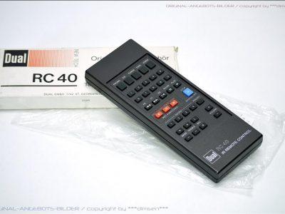 DUAL RC-40 遥控器