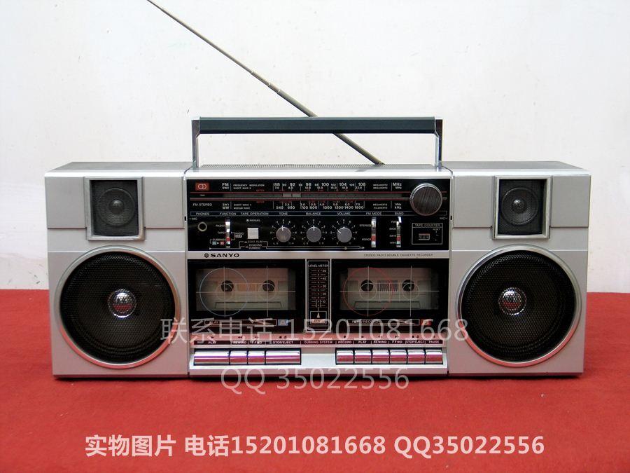 三洋 SANYO M-W2K 四波段双卡收录机
