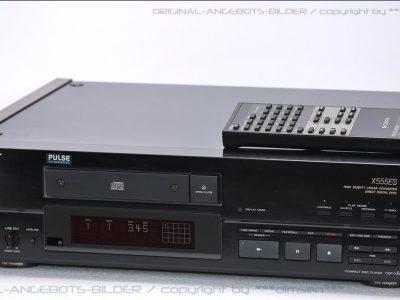 索尼 SONY CDP-X555ES 高级CD播放机