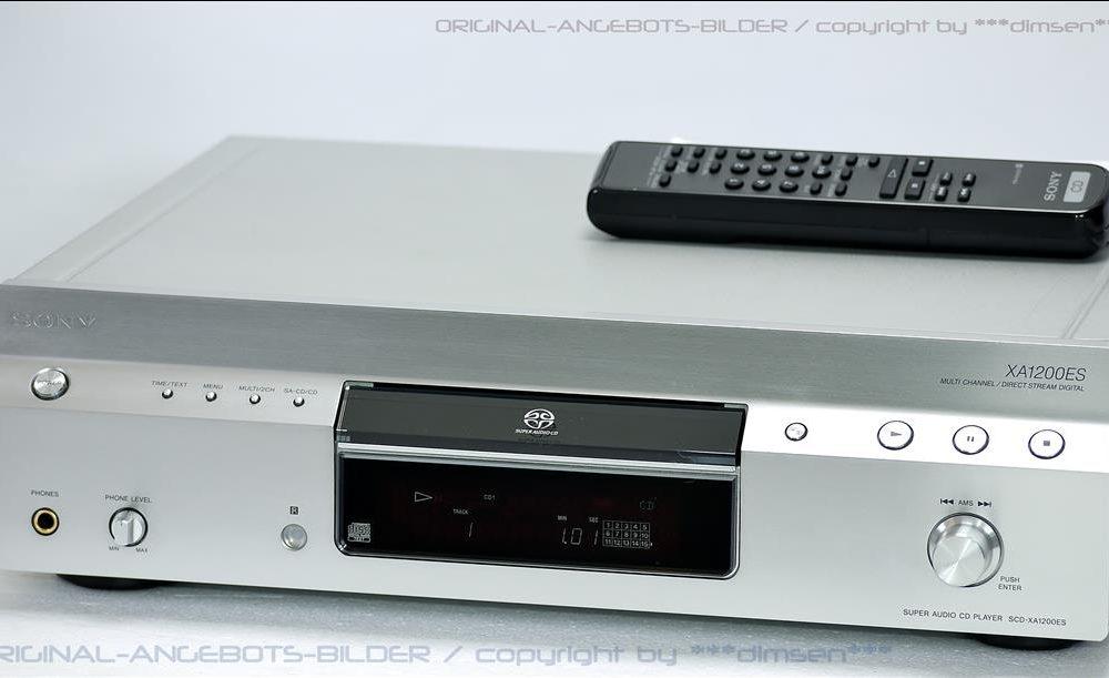 索尼 SONY SCD-XA1200ES 高级SACD播放机