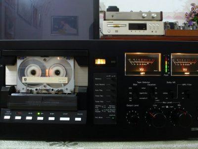 山水 SANSUI SC-77 双表头卡座