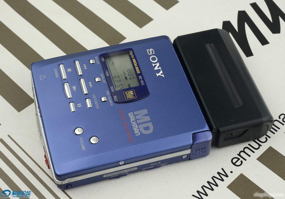 索尼 SONY MZ-R55一台