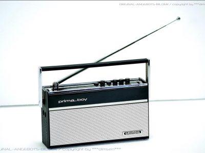 根德 GRUNDIG PRIMABOY 便携收音机