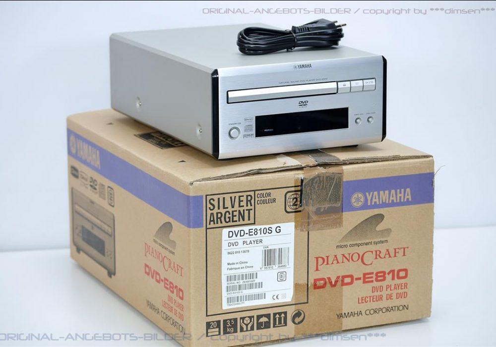 雅马哈 YAMAHA DVD-E810 桌面音响DVD播放机