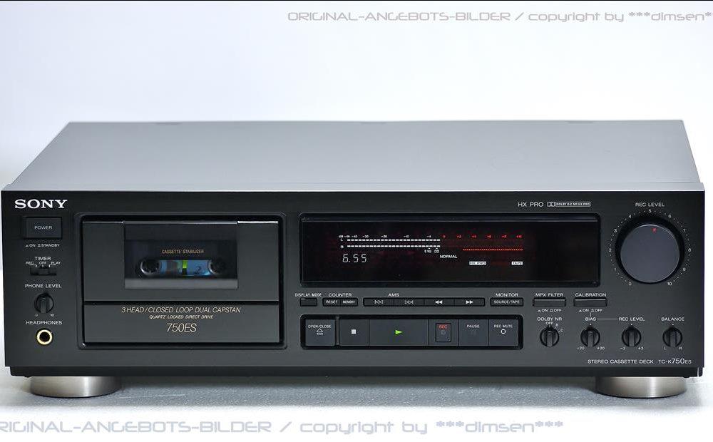 索尼 SONY TC-K750ES 高级三磁头卡座