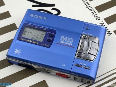 几台蓝色MD机器