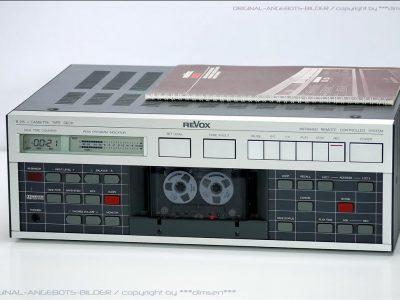 REVOX B215mkII 专业级磁带卡座
