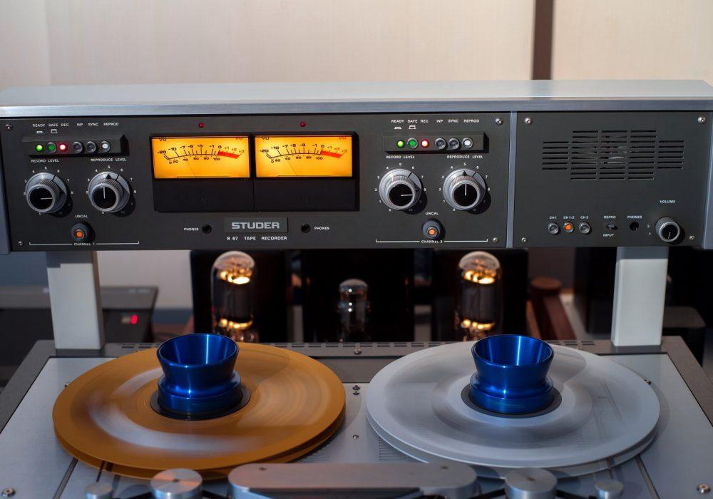 STUDER B67 MK2 专业大型开盘机(嫁出) – 广安经典音响