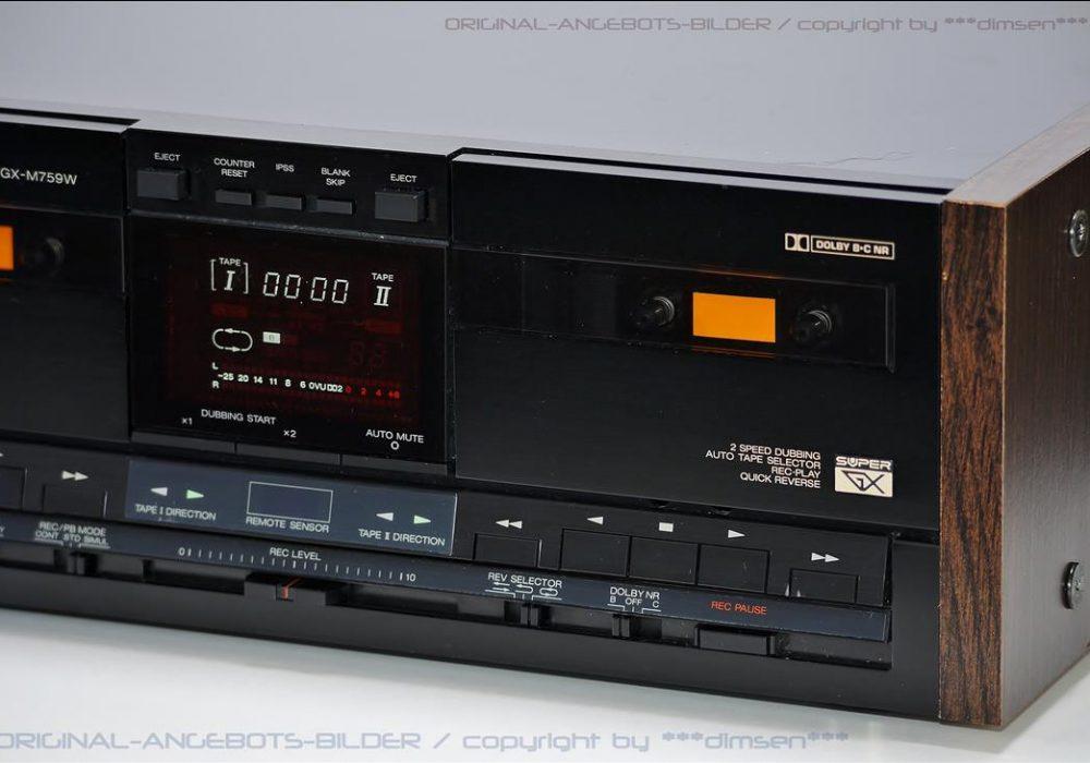 雅佳 AKAI GX-M759W 高级双卡座