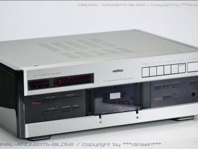 REVOX H1 高级专业卡座