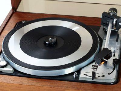 Dual 1019 黑胶唱机